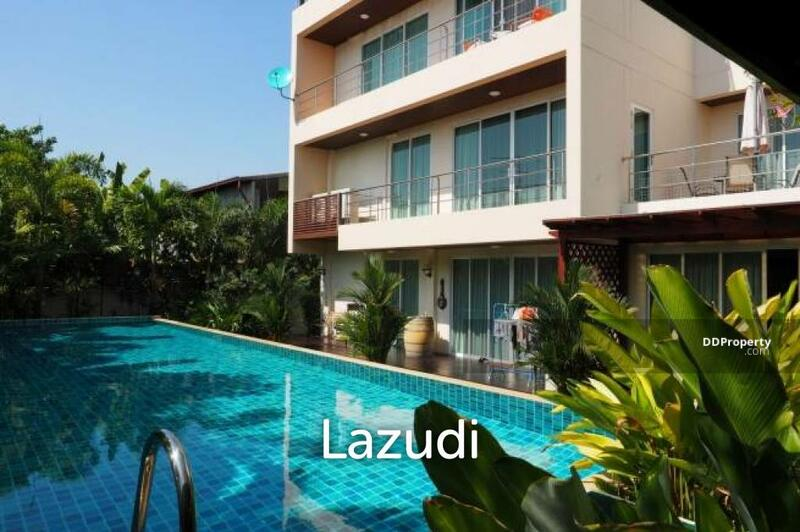 Lazudi Ultimate Home Office   Large Luxury 5 Bed House with Private Pool Plus Office Building at Ban