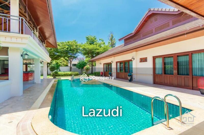 Lazudi HILLSIDE HAMLET 3 : Quality 4 bed pool Villa