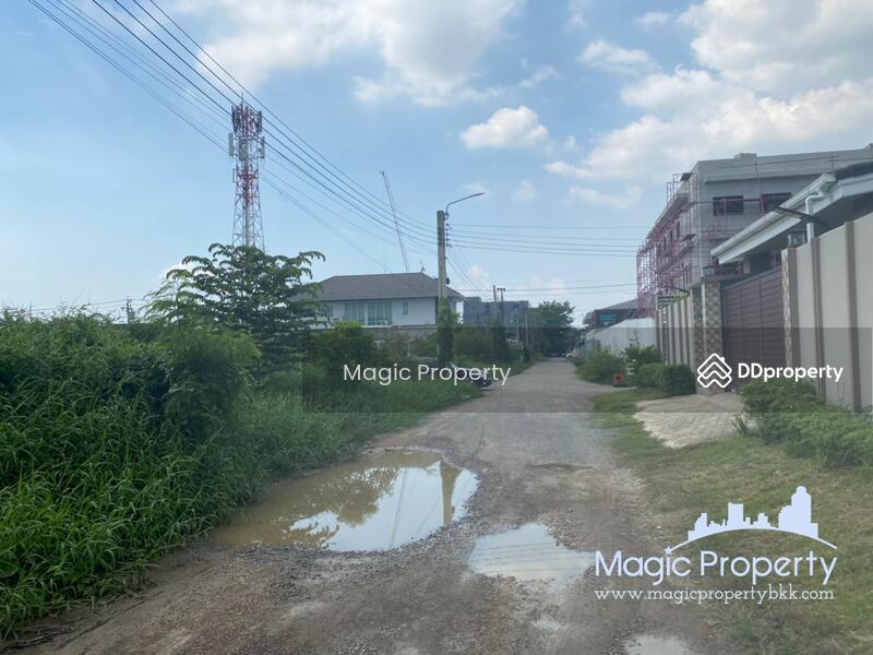 100 sq.wah. Corner Plot Land for Sale in Ban Mai, Ban Mai Pak Kret, Nonthaburi. #86207910
