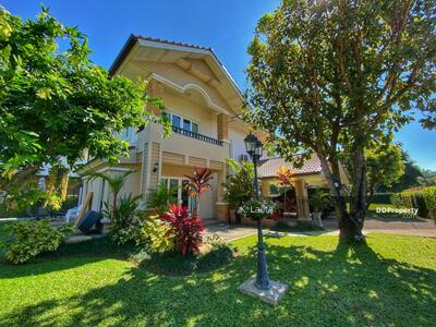 For Sale - GCHS#170 Best Deal ! !! Beautiful Mountain View Home For Sale With Very Large Garden In Moo Baan Sansaran 1, Samoeng, Hang Dong, Chiang Mai