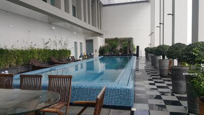 For Sale - Condo for Sale 5 BR Penthouse Duplex with Private Pool at The Sukhothai Residences, Sathorn, Bangkok.
