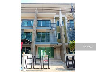 For Sale - NK006 Town Plus Pracha Uthit 90 for sale, new house, area 25. 8 sq m.