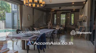 ขาย - Garden View, Private Pool   House with private pool for rent and sale in the Sukhumvit area near BTS (AA25982)