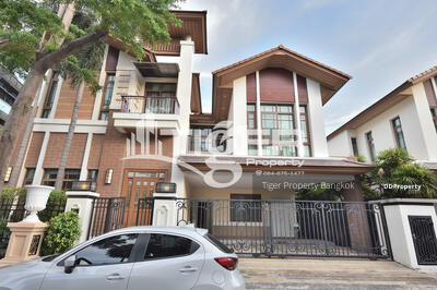 ให้เช่า - Baan Sansiri Sukhumvit 67 For rent 4 bed room
