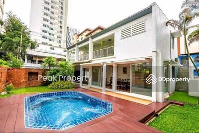 ให้เช่า - ! !! This price only during COVID 19 ! !! *BTS Nana - Phloenchit Single House For Rent! !!