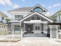 ขาย - บ้านมือสองตกแต่งใหม่ คุณาลัย รัตนาธิเบศร์ พร้อมอยู่ ติดถนนใหญ่
