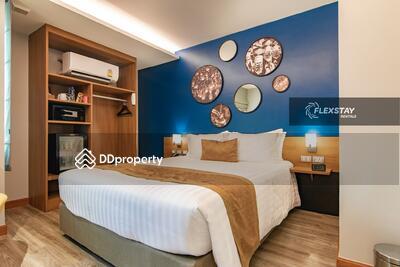 ให้เช่า - อพาร์ทเมนต์ 1 นอน ห้องสวย ใกล้ MRT สุทธิสาร ขั้นต่ำ 6 ด. (ID 1111)
