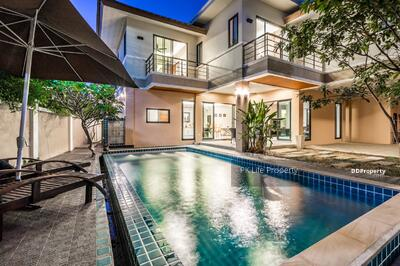 For Rent - 8R0301 Pool villa 3 bedroom 1 office 5 bathroom 70, 000/month at Chalong