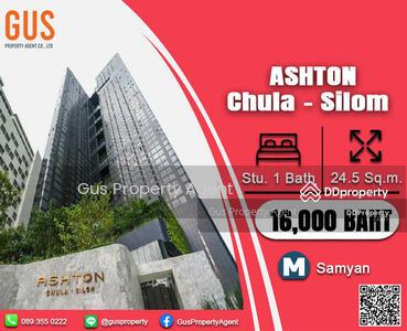 For Rent - ไม่ควรพลาด! ! ! ห้องดี ราคาปังมาก พร้อมเข้าอยู่ ที่ Ashton Chula Silom