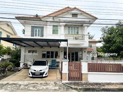 For Sale - ขาย บ้านเดี่ยว พร้อมที่ดิน นันทวัน ศรีนครินทร์ บางเมือง สมุทรปราการ ติดทางด่วน กาญจนาภิเษก