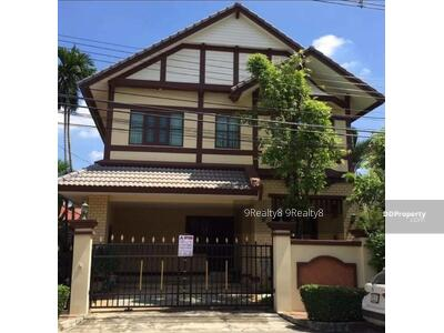 For Sale - R1927-ขายบ้านเดี่ยว หมู่บ้านลัดดารมย์ (Q house)เอกมัย รามอินทรา Renovate ใหม่ประมาณ 4 ปี