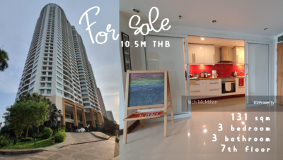 For Sale - Large condo for sale. 131 sq. m. 3bedroom. Next to BTS Paholyothin 24