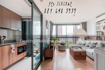 ขาย - ต้องการขายด่วน คอนโด Taka Haus Corner Room คอนโดพร้อมอยู่ พร้อมเฟอร์ฯ