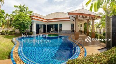 For Rent - Single Storey Pool Villa for Rent in NaJomtien