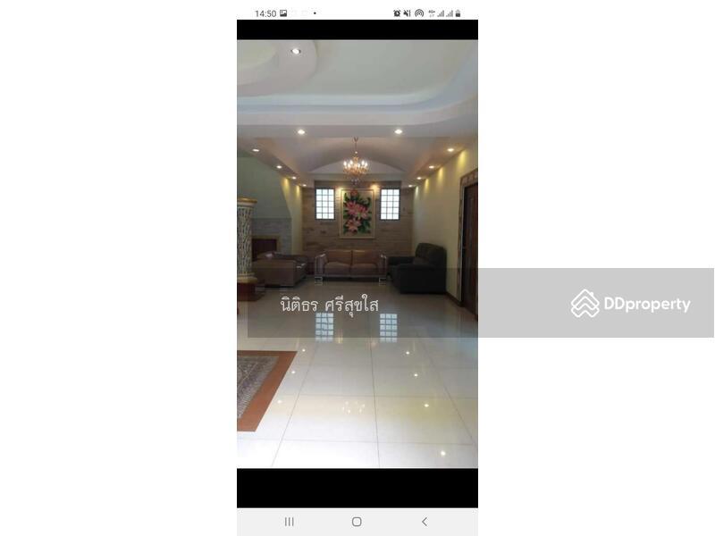 ขายบ้านเดี่ยว2 ชั้น สร้างเอง เนื้อที่ 367ตารางวา ซอยรามอินทรา 38 4ห้องนอนใหญ่ 5 ห้องน้ำ 2 ห้องทำงาน #87186678