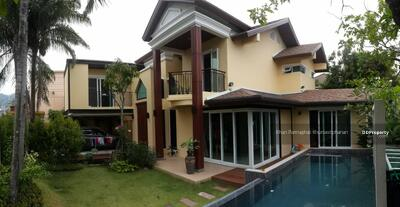 For Rent - 4 bedroom private pool villa at center of patong beach phuket