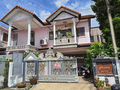 For Sale - ขายด่วน. .. ขายถูก! รับคุยทุกเงื่อนไข!   บ้านเดี่ยว 72 ตร. ว. บ้านสถาพร รังสิต คลอง 3 ถนนรังสิต-นครนายก  3. 99ล้าน