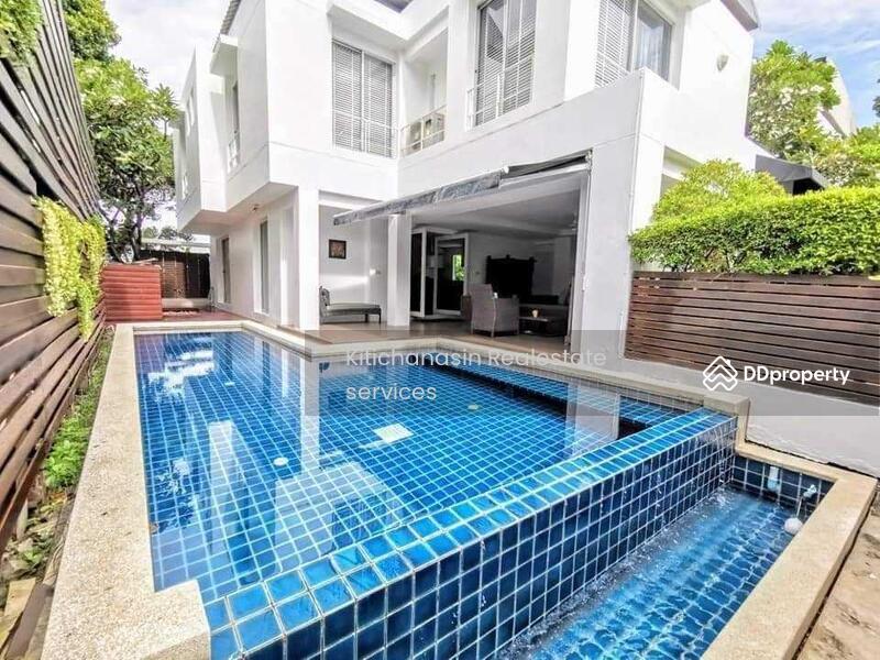 บ้านเดี่ยวพร้อมสระว่ายน้ำส่วนตัว โครงการ โนเบิลปาร์ค บางนาตราด #87307290