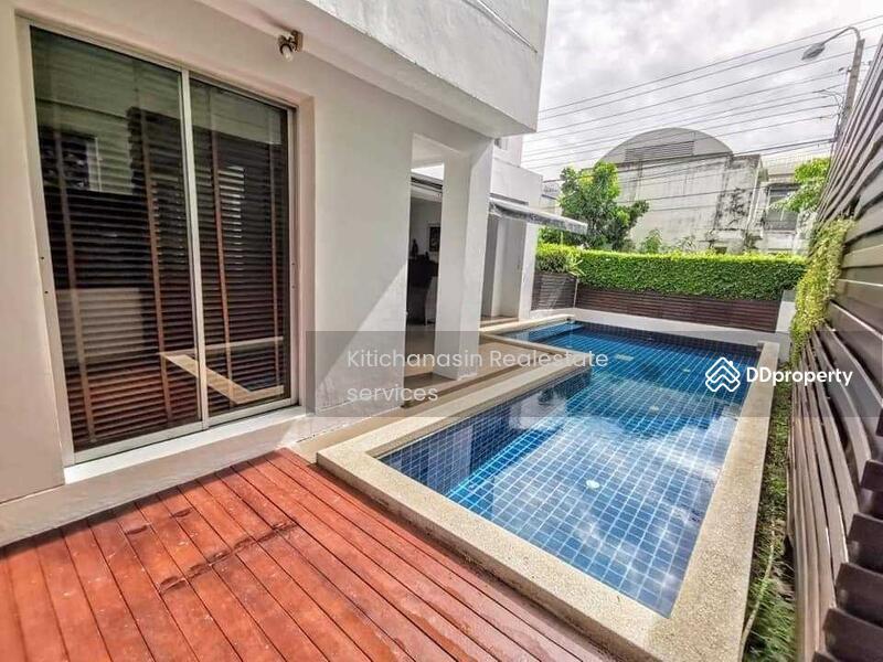 บ้านเดี่ยวพร้อมสระว่ายน้ำส่วนตัว โครงการ โนเบิลปาร์ค บางนาตราด #87307296
