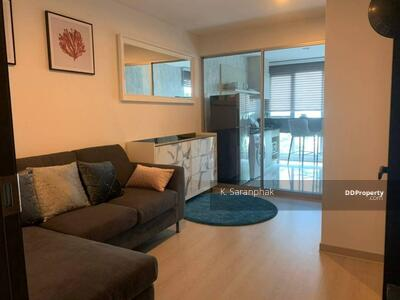 For Rent - Condo for rent Rhythm Sathorn-Narathiwat Type 1 bedroom 1 bathroom Size 38 sq. m. Floor 8