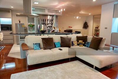 For Rent - Novel 3-BR Condo at Silom Terrace Condominium near BTS Sala Daeng (ID 454626)