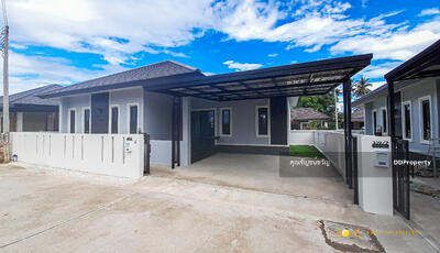 For Sale - CF0212  Modern House for sale with 3 bedrooms, 2 toilets, 1 kitchen and 2 parking spaces.  Utility space in  50  sq. w. Near the city.