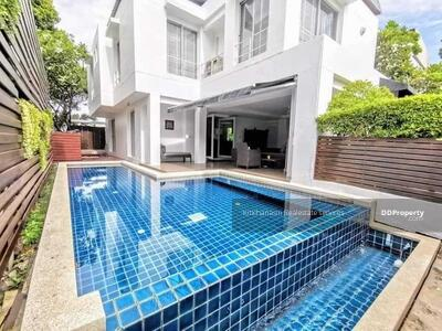 For Rent - Notification of the KRE-B971 code, single house, Noble Park Sanitary 6, Bang Phli Yai, 3 bedrooms, 3 bathrooms, 60 sq. w. 2 floors, rent 40, 000 baht @line: 0835029312 Khun Omelet