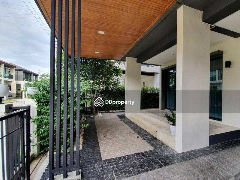 บ้านดีไซน์ MODERN FUSION HOUSE บนถนนหทัยราษฎร์ ใกล้ทางด่วนฉลองรัช #87891502