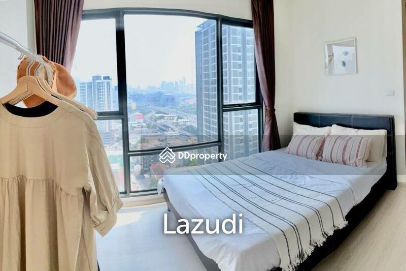 Lazudi Rhythm Asoke / Condo For Rent and Sale / 2 Bedroom / 42 SQM / MRT Phra Ram 9 / Bangkok