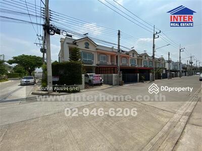 For Sale - ทาวน์เฮาส์ 2 ชั้น (หลังมุม) 29. 5 ตร. ว. หมู่บ้านวิลลาจจิโอ บ้านกรด ถนนสายเอเชีย - 42620