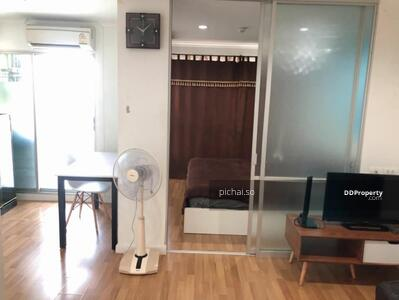 For Rent - ให้เช่า! คอนโด ลุมพินี เพลส รัชโยธิน ใกล้รถไฟฟ้า MRT พหลโยธิน ตึก D ชั้น 10 ขนาด 28. 5  ตรม. 1 ห้องนอน 1ห้องน้ำ