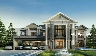 For Rent - TTA1305 Grand Bangkok Boulevard Sukhumvit. at Bearing , Bangna出租英式豪宅  在 Bearing , Bangna  5房7卫, 180 W 土地。  面积:848 平方米