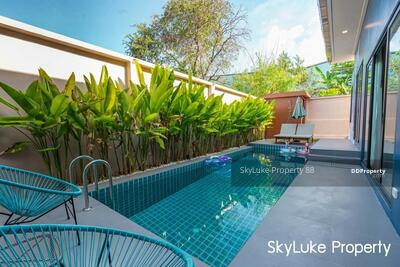 For Rent - Priavate pool villa for Rent 2 bedrooms 3 bathrooms VR40-CH0130