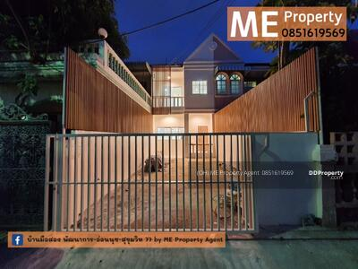 For Sale - Sell Town House New Renovate Udomsuk 51 Near BTS 2 Railway