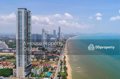 For Sale - Cetus Beachfront South Pattaya, corner room, sea view