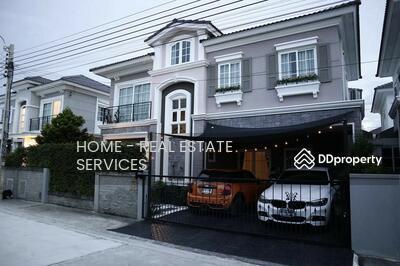 For Sale - ขายบ้านเดี่ยว โกลเด้น นีโอ ลาดพร้าว-เกษตรนวมินทร์ / 4 ห้องนอน, Golden Neo Ladprao-Kaset Nawamin / 4 Bedrooms (FOR SALE)  YIM158
