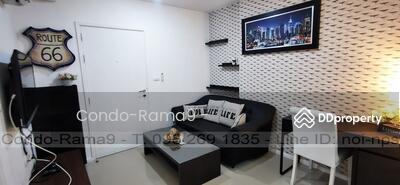 ให้เช่า - RENT ! ! Condo Aspire, MRT Rama 9, 1 Bed, Bl. A, Fl. 2, Area 32 sq. m. , Rent 10, 000 Baht