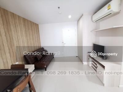 ขาย - SALE ! ! Condo Aspire, MRT Rama 9, 1 Bed, Tower B, Fl. 12, Area 39 sq. m. , Sale 3. 59MB.