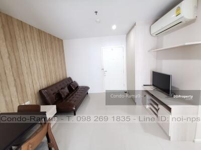 For Sale - SALE ! ! Condo Aspire, MRT Rama 9, 1 Bed, Tower B, Fl. 12, Area 39 sq. m. , Sale 3. 59MB.