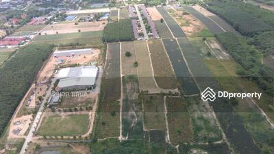 For Sale - ขายที่ดินม่วงลายนิคมพัฒนา 45 ไร่ ติดถนนเส้น 3376 ใกล้ถนนเส้น 36 - 1 กม. จ. ระยองRY-170