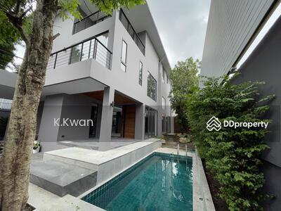 ขาย - ขาย - เช่า บ้าน - โฮมออฟฟิศ สระว่ายน้ำส่วนตัว สวย โมเดิร์น   สุขุมวิท 71 - BTS พระโขนง