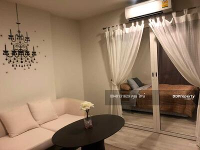 For Rent - Inform the code KRE-A8022 Chambers Chaan, 1 bedroom, 1 bathroom, 29. 94 sq m, 6th floor, rent 12, 000 baht @LINE:0949131629 Khun Tine