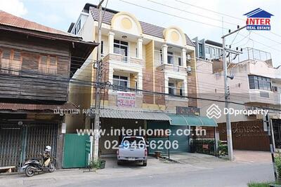 For Sale - ทาวน์โฮม 3 ชั้น 22. 3 ตร. ว. ใกล้ตลาดไนท์พลาซ่ากำแพงเพชร อำเภอเมือง จังหวัดกำแพงเพชร - 41268