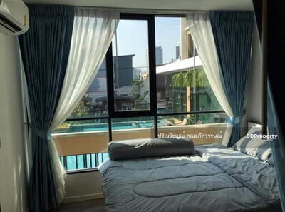 For Rent - 6408-301 Condo for rent, Ratchada Sutthisan, MRT Huai Khwang, Brown Ratch