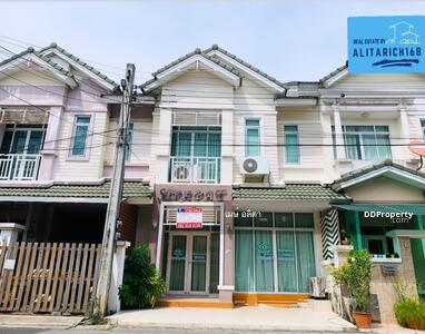 For Sale - Townhouse for sale, 2 floors, , Siraphat  2, Sai Ma, Nonthaburi.