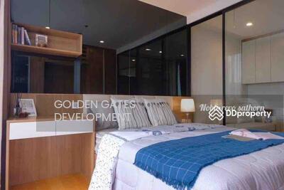 For Rent - Noble revo silom โนเบิล รีโว สีลม / 1 Bedroom for Rent (Gdow0534)