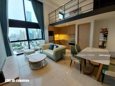 For Rent - Loft/Duplex Type 1Bed unit for rent in  Lofts Silom