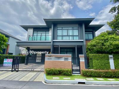 For Sale - NYG050 House for sale, Grand Bangkok Boulevard, Rama 9, beautiful village, luxury platinum near Wellington College International School