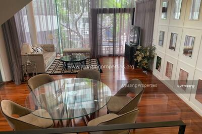 For Rent - 3 bedroom house for rent in Levara Residence Phrom Phong (HS-00077)