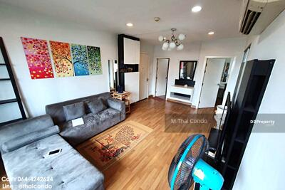For Rent - Hot! ! For Rent Condo Centric Ratchada - Suthisan near MRT Sutthisan 60 sqm. 6th floor, ready to move in.